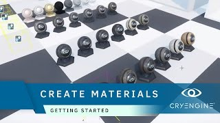 How to create materials in CRYENGINE | Getting Started