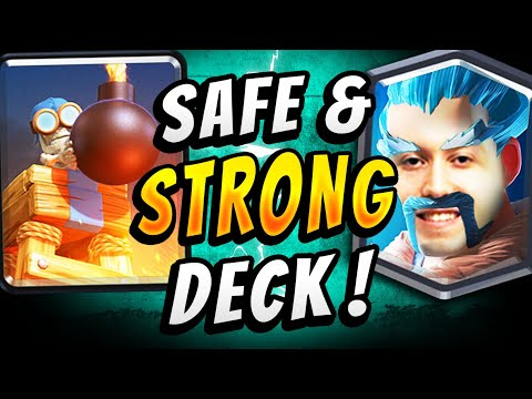 82% WIN RATE! NEW BOMB TOWER DECK DOMINATES! — Clash Royale