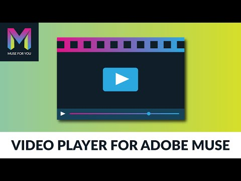Custom  Player Widget  Adobe Muse CC  Muse For You