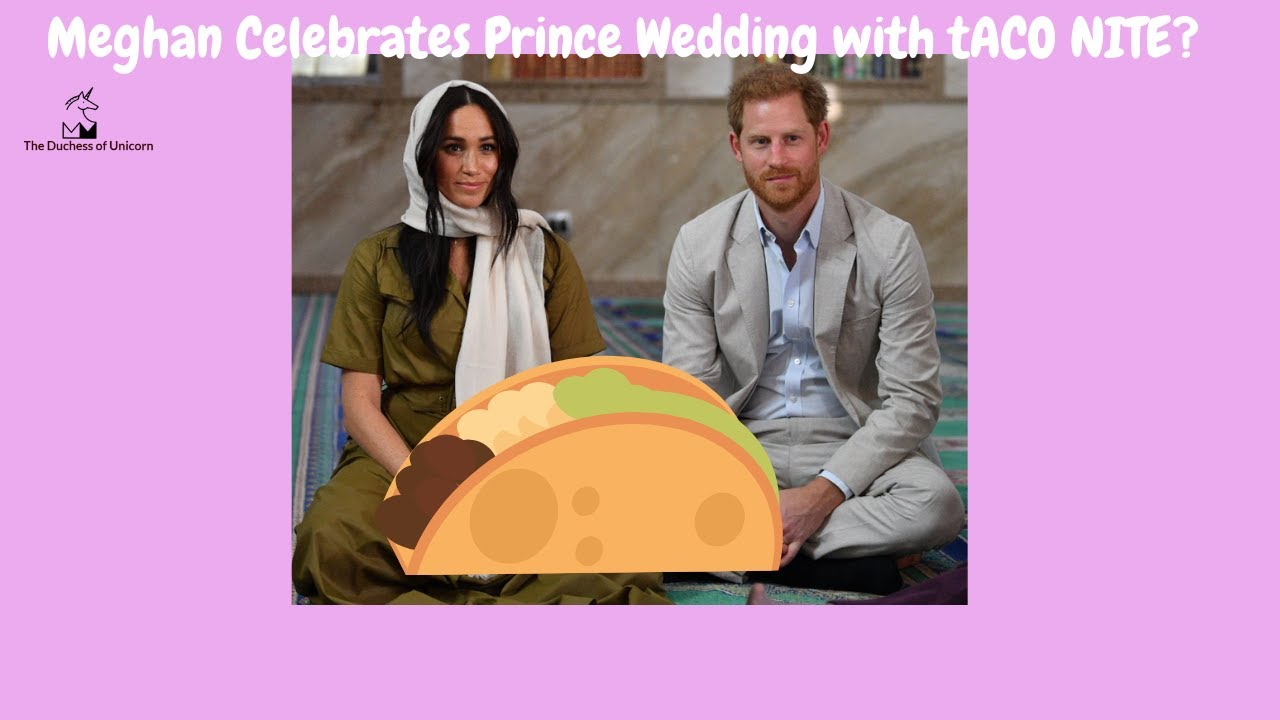Meghan's idea of Celebrating Anniversary with A Prince