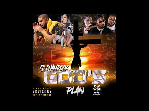 ''GOD'S PLAN'' NEW LATEST (RNB DANCEHALL MIX) MARCH 2018 (PROMO) CD SHAMROCK NEW MARCH WEEK 2