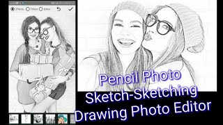 How to pencil sketch a photo | pencil photo sketch-Sketching Drawing photo Editor (2020) screenshot 5