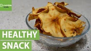 How to make homemade cinnamon apple chips