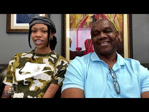 Randall Cunningham coaches his daughter Vashti, to the Olympics in Toyko
