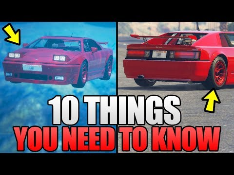 10 THINGS YOU NEED TO KNOW ABOUT THE NEW ARDENT DLC CAR & OTHER CONTENT IN GTA 5 ONLINE! (GTA V)