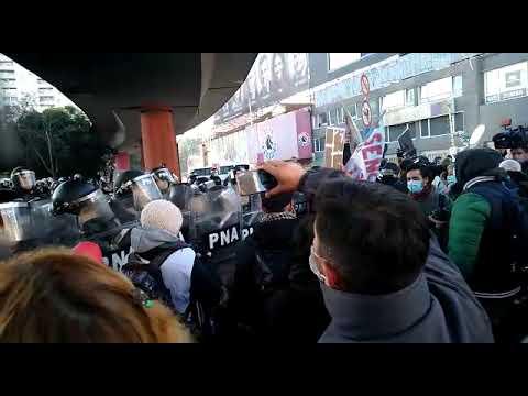 El Estado contra les esenciales en Puente Pueyrredón: Prefectura niega protesta de personal de salud