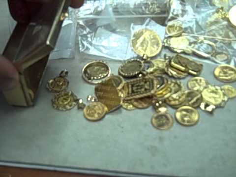 Scrap Gold and Gold Coins