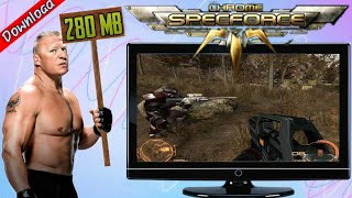 Chrome SpecForce Low End PC Game Explain In Hindi