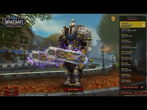 Bajheera - 2450+ Fury Warrior / Holy Paladin 2v2 Arena - WoW BFA 8.0 Warrior PvP