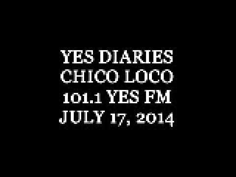 Yes Diaries 101.1 YES FM July 17, 2014 (1)