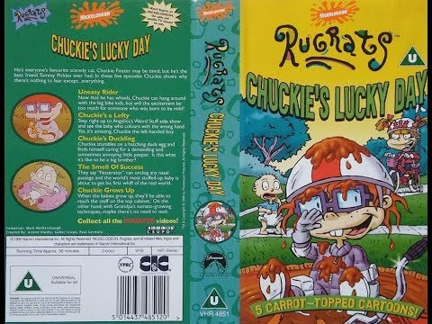 Opening and Closing of 'Rugrats - Chuckie's Lucky Day' (1999, UK VHS)