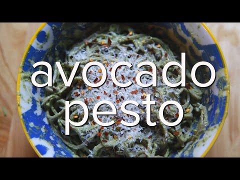 Watch How to Make AvocadoPesto