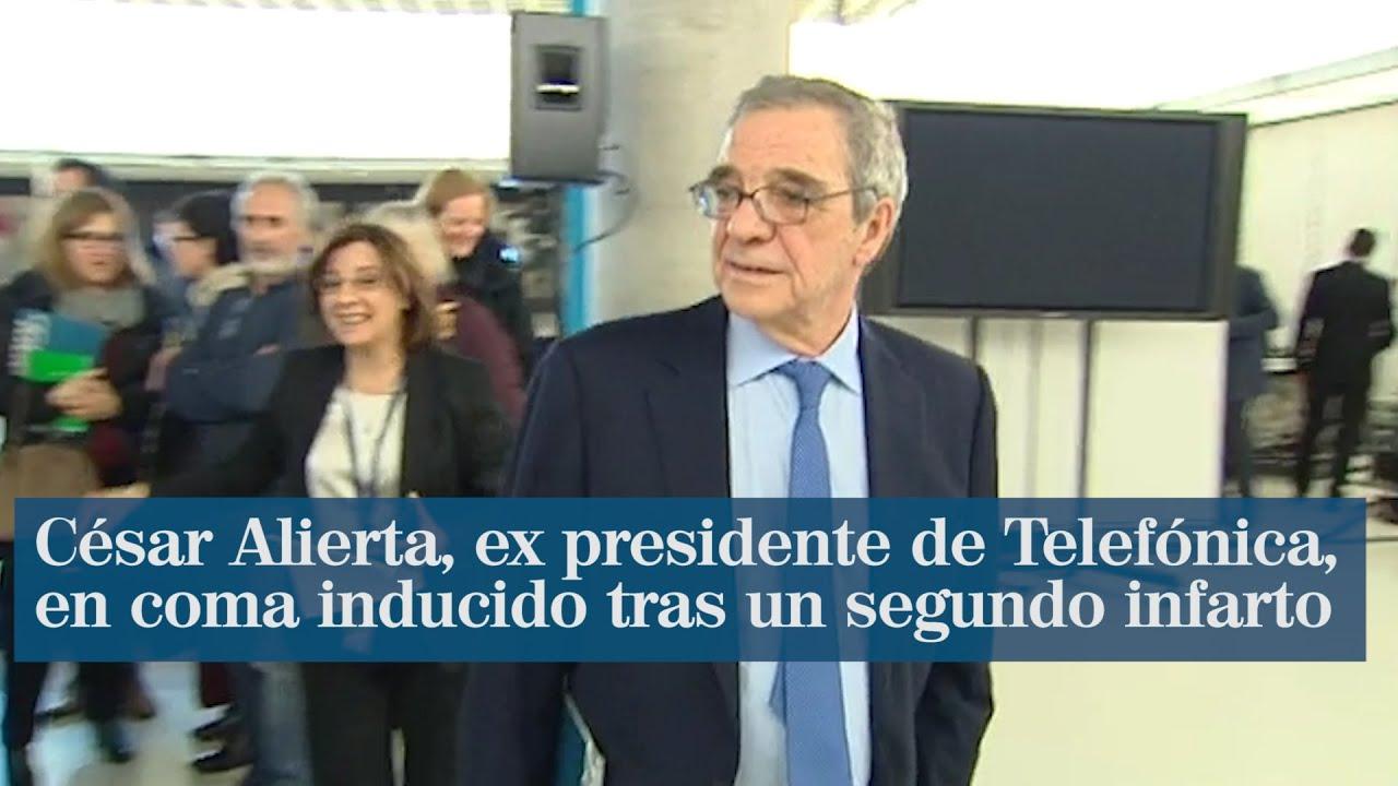 César Alierta, ex presidente de Telefónica, en coma inducido y en estado grave