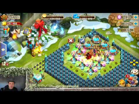 Castle Clash - Quick Test On HBM AA