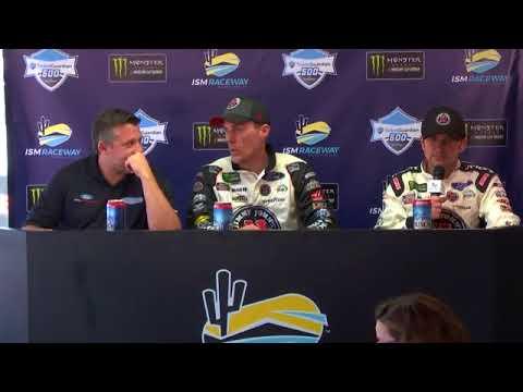 2018 NASCAR Phoenix Monster Cup post-race Q&A
