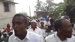 Manifestation Pacifique à Tsoudjini contre la dictature d'Azali  14 avril 2019
