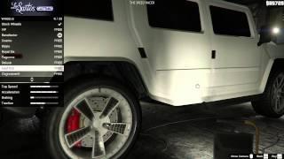 Grand Theft Auto V - Mammoth Patriot - Customization