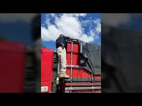 Em menos de 24 horas, Operação Carga Pesada retira de circulação mais de 500 toneladas de excesso de peso das rodovias federais da Bahia