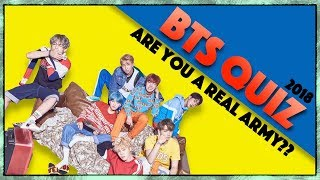BTS Quiz! Are You a True Army?? (Very Hard)