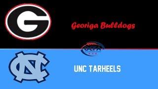 UNC Tarheels @ Georgia Bulldogs [] Roblox OCFA S11 Highlights