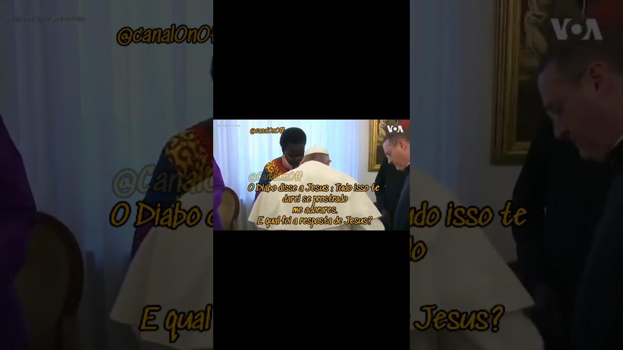 IG20 | 🔥 Alguém explica o que o Papa está fazendo?