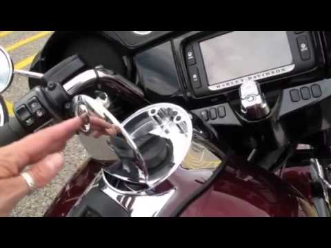 2014 Harley Davidson One Touch Gas Filler Cap Video Youtube