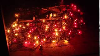 """""""Light up"""" a Fireplace with Chasing Lights Christmas Lights"""