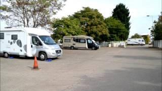 Colmar    - aire de camping car au Port de Plaisance