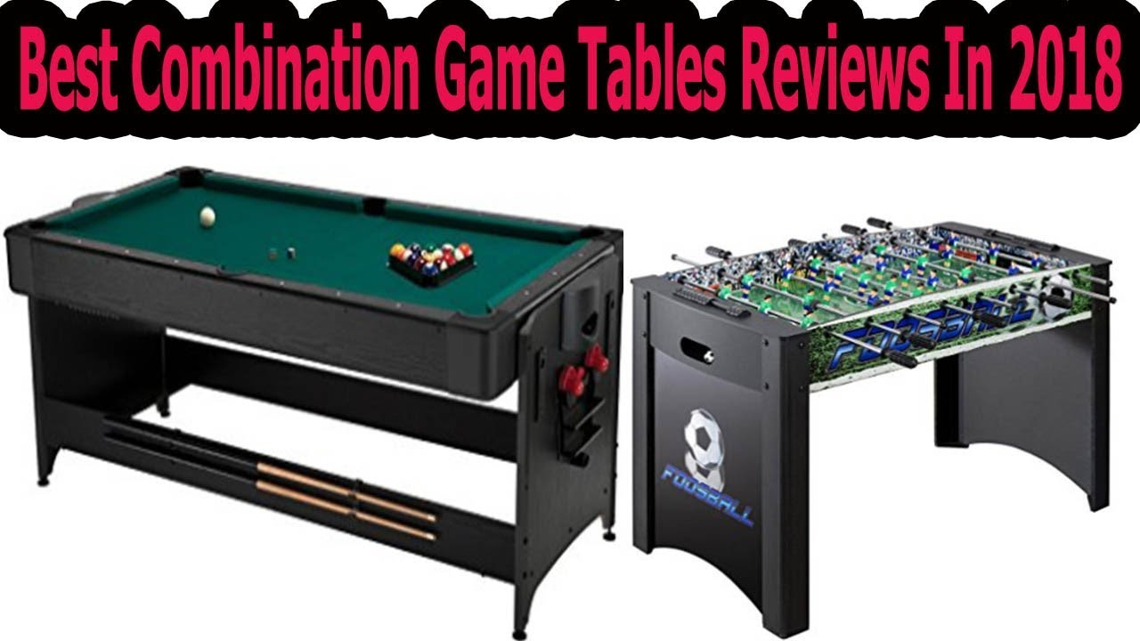 Best Combination Game Tables Reviews In 2019ultimate Buying Guide