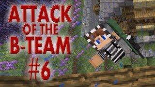 attack of the b team 6 玩雕像 玩槍械 minecraft