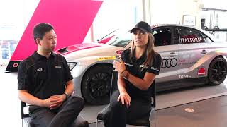 Audi Sport | Lindsay Rice Interview
