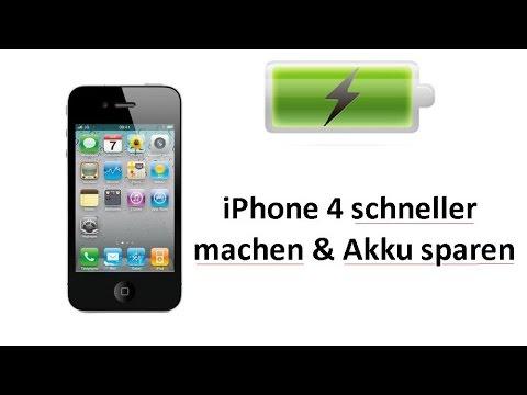 iPhone 4 (IOS7) viel schneller machen & Akku sparen - So gehts!