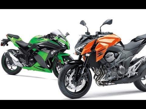 Kawasaki Z800 und Ninja 300 | Bikes für die neue Führerscheinklasse