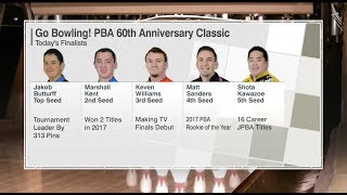 2018 Go Bowling! PBA 60th Anniversary Classic Stepladder Finals