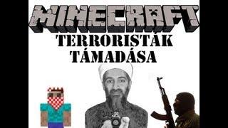 Minecraft - Terroristák támadása /Kaktusz a kis nagy hős part1