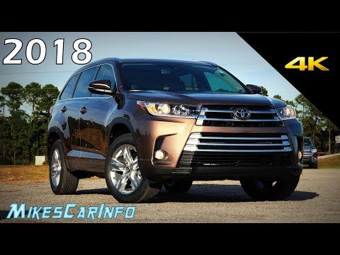 2018 Toyota Highlander Limited - Ultimate In-Depth Look in 4