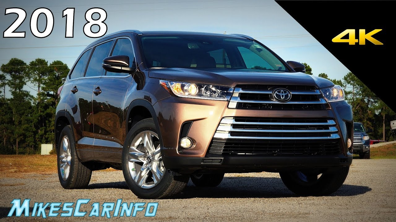 2018 Toyota Highlander Limited Ultimate In Depth Look 4k