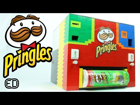 Lego Pringles Machine | Original and Sour Cream & Onion