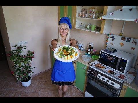 Простой рецепт в пароварке! Готовим овощи на пару в микроволновке!