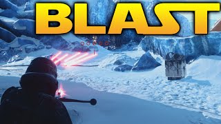 Star Wars Battlefront: LVL 50 BLAST GAMEPLAY /w DL-44