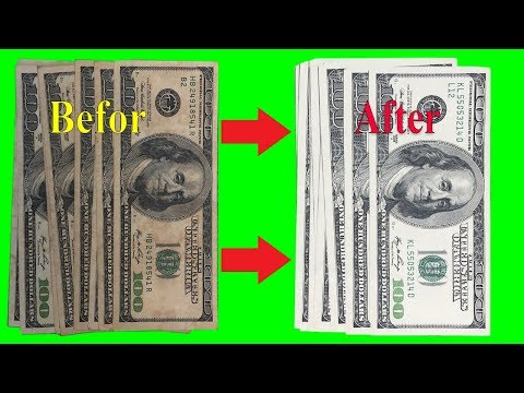 Perfect Rust USD Dollar Restoration/ How To Clean Old Rust US Dollar Money