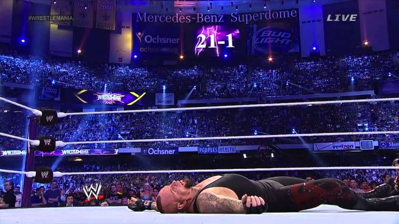 Wwe Undertaker Streak Ends