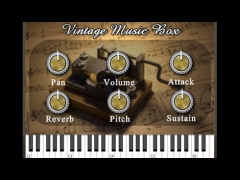 Vintage Music Box Plugin -  (Mac/PC VST, AU)