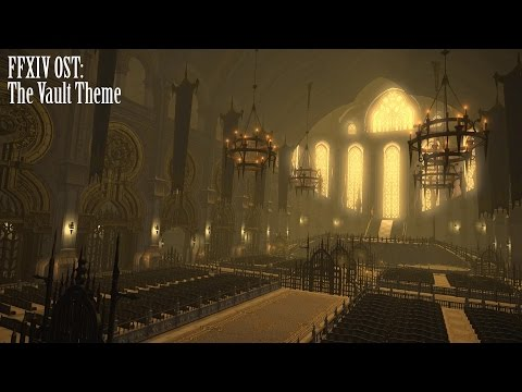 FFXIV OST The Vault Theme ( Hallowed Halls )
