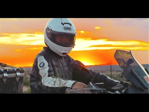 One motorcycle around the world in 600 days