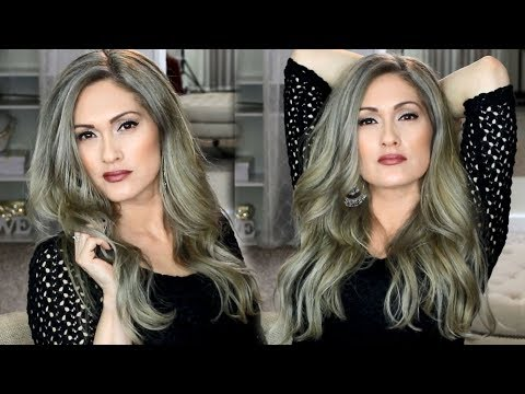 How & Why I DYED MY HAIR SILVER GRAY