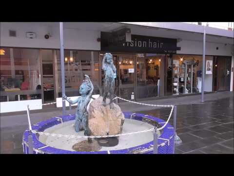 Marjorie Fitzgibbon '3 Children Play in Water' Sculpture Belfast