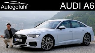 Best in class? Audi A6 FULL REVIEW all-new C8 2019 s-line neu - Autogefühl