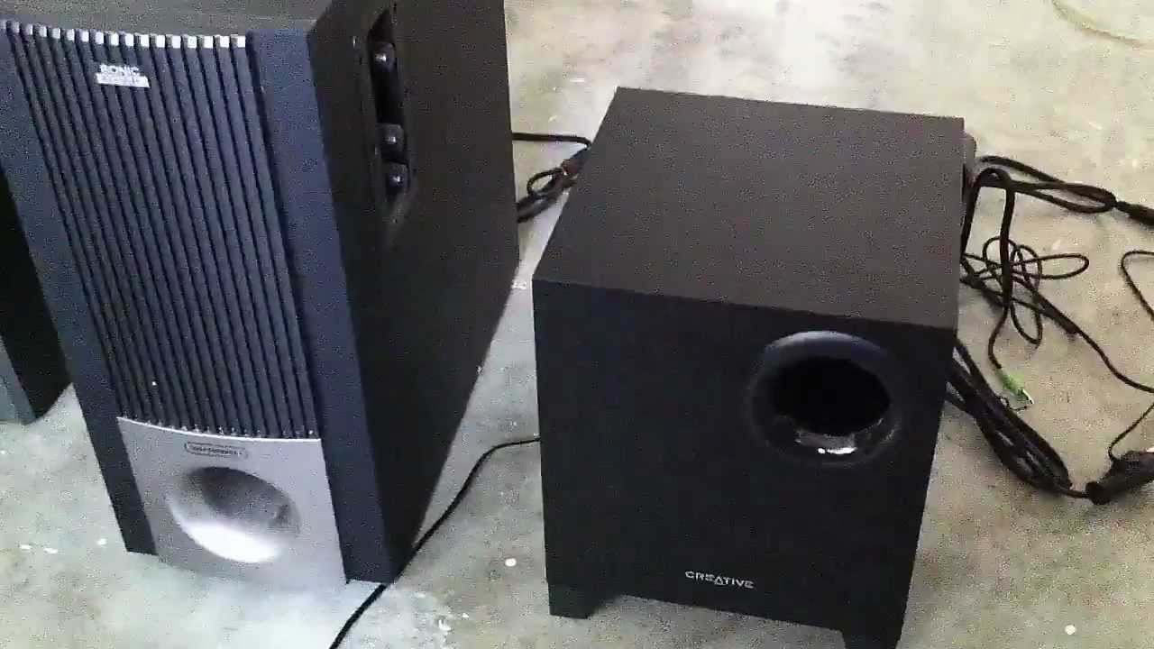 Sound Wiring Schematic Creative Sbs A220 2 1 Speaker System Youtube