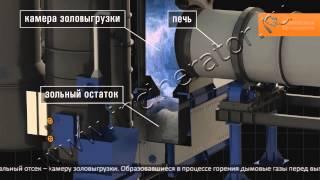 Инсинератор для обезвреживания отходов. Вращающаяся печь(Инсинератор для термического обезвреживания любых видов смешанных отходов. Предназначен для утилизации..., 2014-02-04T12:47:43.000Z)
